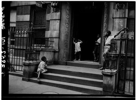 Harlem Street Scenes, 1939, by Sid Grossman | GenealoNet | Scoop.it