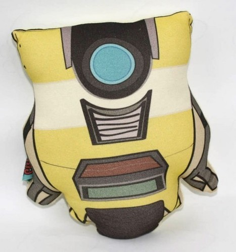 Borderlands Claptrap Pillow: Lay on Me Minion! | All Geeks | Scoop.it