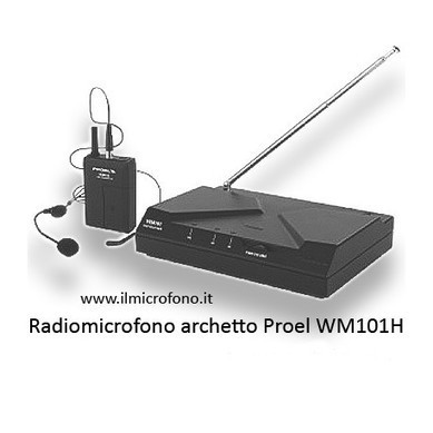 Radiomicrofono Archetto Proel WM 101H in versione UHF | Catering Banqueting | Scoop.it