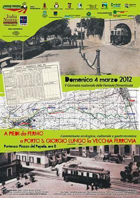 5a Giornata Nazionale delle Ferrovie Dimenticate: la manifestazione nel Fermano | Le Marche un'altra Italia | Scoop.it