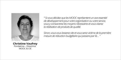 Interview Christine Vaufrey, MOOC &CIE | Mooc Francophone | E-pedagogie, apprentissages en numérique | Scoop.it