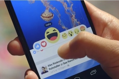 Facebook Unveils Reactions - 'Net Features - Website Magazine | Marketing and Creative Services | Scoop.it