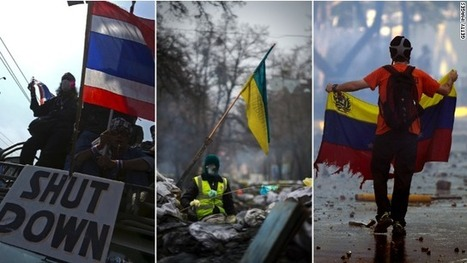 From flames to fiery opposition, protests rock Ukraine, Venezuela, Thailand | KRIEGSMASCHINE_WAR MACHINE | Scoop.it