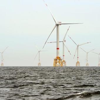 La construction du premier parc éolien en mer du Nord est terminée - La Province | EMR | Scoop.it