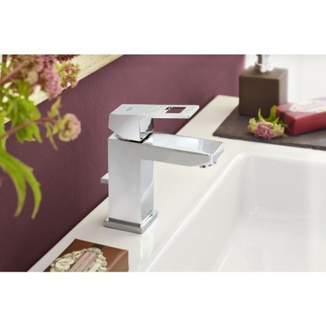 Rubinetteria lavabo Grohe Ecube - KV Blog | Arredo Bagno | Scoop.it
