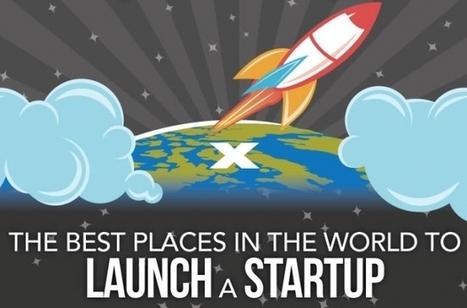 #Infographie : Sélection de 5 pays où lancer sa startup, selon des critères financiers et sociaux - Maddyness | Logiciel SIRH | Scoop.it