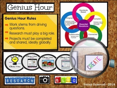 Crowdsourcing Genius Hour | Cool Tools for Common Core Connections | Scoop.it