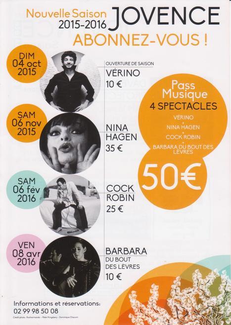 Profitez du tarif exceptionnel de 50€ les 4 spectacles - Déjà en vente ! | CC Jovence | Scoop.it