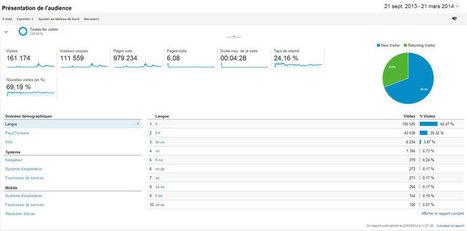 Bilan MOOC Francophone : 6 mois déjà ! et 161 174 visiteurs... | mooc | Scoop.it