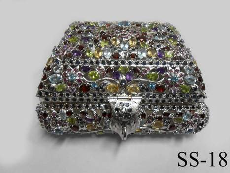 Buy Sterling Silver Jewellery Box   Indian shaily crafts   Scoop.it