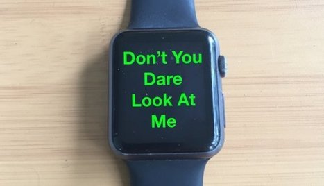 How the Apple Watch Trashed My Business Etiquette | Psychology | Scoop.it