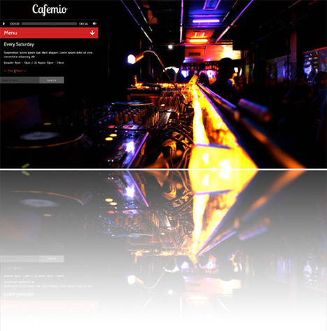 Cafemio, WordPress Ajax Club Bar Cafe Restaurant Theme | WP Download | wordpress primium themes for free | Scoop.it