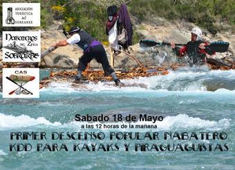 Descente du Cinca en kayaks le 18 mai | Laspuña Nabatiando | Vallée d'Aure - Pyrénées | Scoop.it
