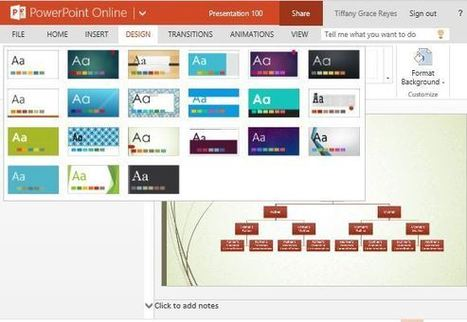 Widescreen PowerPoint Template for Making Family Trees   Free Microsoft Word Templates   Scoop.it