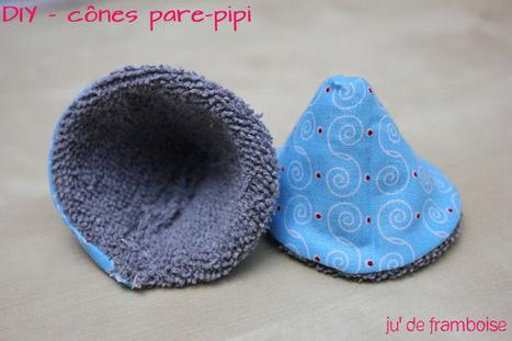Ju2Framboise : TuTo / Couture : Les Pare-Pipi DIY | Créations, Idées, DIY | Scoop.it