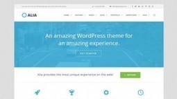 Alia - A Multi-Purpose WordPress Theme | Free & Premium WordPress Themes | Scoop.it
