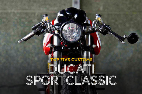 Top 5 Ducati SportClassics | Ductalk Ducati News | Scoop.it