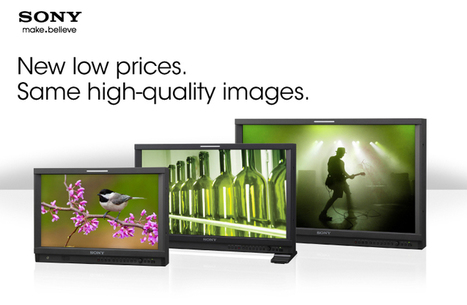 New low prices. Same high-quality images.   Sony Professional   Scoop.it