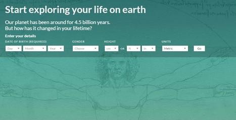 Votre vie sur la terre depuis votre naissance avec la BBC | 2DH. Documentation et Digital Humanities. Essai de veille à l'usage du professeur documentaliste en quête d'humanisme. | Scoop.it