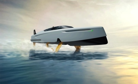 The Foiler 41: An Innovative New Flying Motor Yacht - Ocean Of News | Yachting | Scoop.it