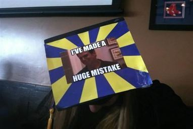 15 Funniest Grad Caps | Strange days indeed... | Scoop.it