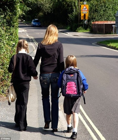 School run is the most stressful time of a mother's day  | Troy West's Radio Show Prep | Scoop.it