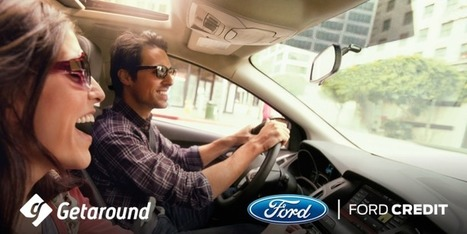 GETAROUND PARTNERS WITH FORD TO DRIVE FUTURE OF CARSHARING | Getaround Blog | Services financiers et innovations | Scoop.it