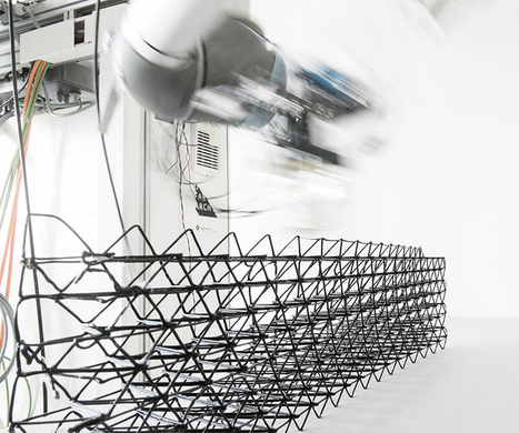 Robotic Construction Gets Fancy at ETH Zurich's Digital Fabrication Lab | The Robot Times | Scoop.it
