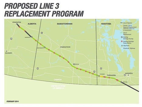 Enbridge to Double Carrying Capacity of Line 3 Tar Sands Pipeline | EcoWatch | DidYouCheckFirst | Scoop.it