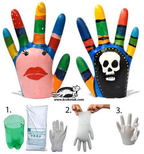 PLASTER HANDS | Cumples infantiles | Scoop.it
