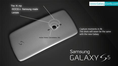 Un nuevo concepto del Samsung Galaxy S5 | Mobile Technology | Scoop.it