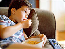 More TV means more junk food - AboutKidsHealth | Food cravings | Scoop.it