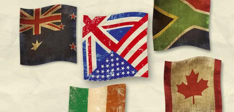 L'anglosphère par-delà la langue : une « manière d'habiter le monde » | Géographie : les dernières nouvelles de la toile. | Scoop.it