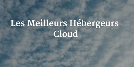 Hébergeur Cloud - Top Hébergement | Hebergement Web | Scoop.it