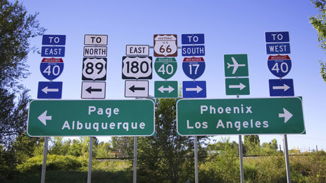 The Surprisingly Bitter Controversy Over American Highway Fonts | Thinking, Learning, and Laughing | Scoop.it
