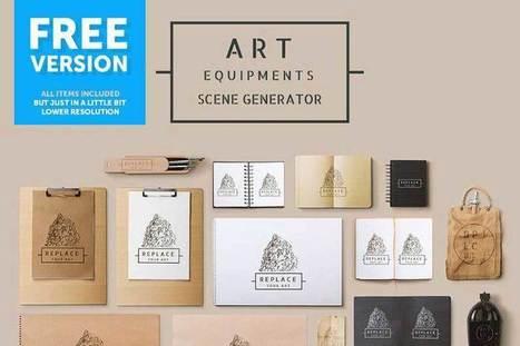 20 Free PSD Scene Creators You Will Love | marketing digital | Scoop.it