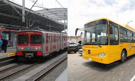 Perú | En setiembre dos paraderos unirán el Metropolitano y el Tren Eléctrico en Lima | Noticias-Ferroviarias Español | Scoop.it