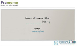 Framemo : un tableau blanc virtuel collaboratif | Éducation, TICE, culture libre | Scoop.it