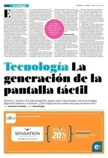 La generación de la pantalla táctil | #Biblioteca, educación y nuevas tecnologías | Scoop.it