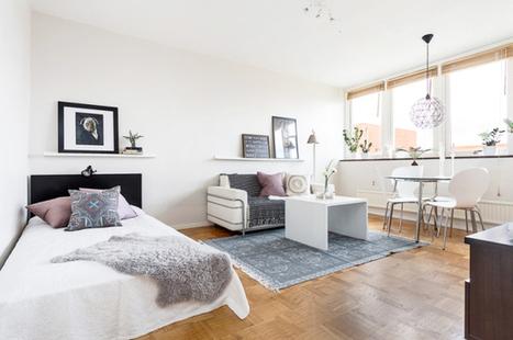 Les petites surfaces du jour : un studio prêt pour l'automne | PLANETE DECO a homes world | habitat et deco | Scoop.it