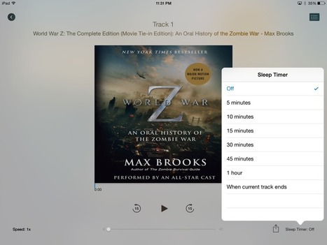 You can Now Listen and Buy Audiobooks with Apple iBooks | Good-E-Reader | Ebook and Publishing | Scoop.it