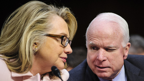 Who said it: Hillary Clinton or John McCain? | Coffee Party News | Scoop.it