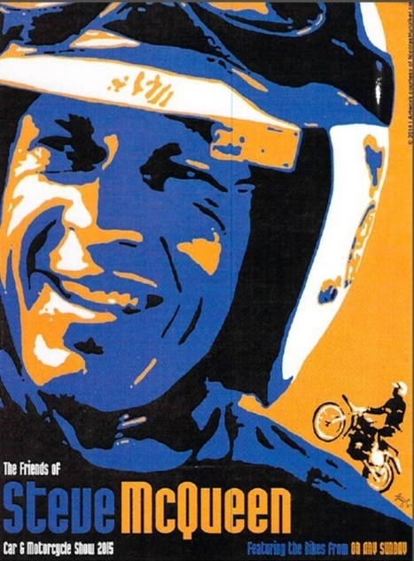 Save the Date: The Friends of Steve McQueen Car and Motorcycle Show 2015 | California Flat Track Association (CFTA) | Scoop.it
