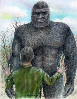 Giant Ape-Like Creature & Humanoids Seen Coming Out Of Landed UFO  | Paranormal | Weird Things | Scoop.it