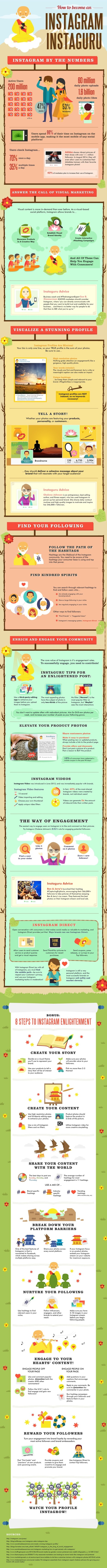 29 Tips on How to Succeed With Your Instagram Marketing #Infographic | MarketingHits | Scoop.it