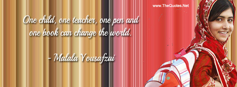 Malala Yousafzai Quotes | TheQuotes.Net - | religious impact | Scoop.it