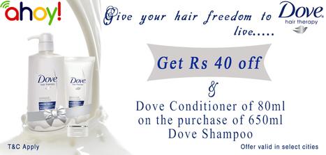 Dove Shampoo Offer  Uahoy   food   Scoop.it