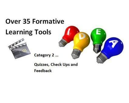 Part 2: Over 35 Formative Assessment Tools To Enhance Formative Learning Opportunities | 2.0 Tech Tools for Education | Scoop.it