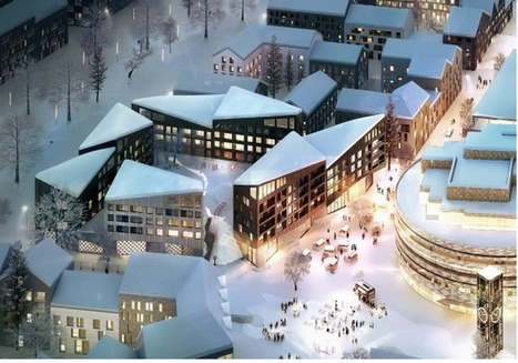 "[Kiruna, Sweden]  Kjellander + Sjöberg's Swedish Urban Block to Increase ""Civic Dialogue"" | Archivance - Miscellanées | Scoop.it"