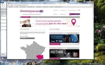 aimetescommerces.com : la vente privée de commerces de proximité est née | AimeTesCommerces - Vente privée de proximité | Scoop.it